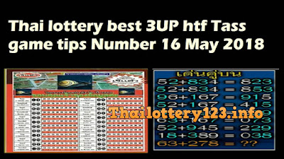 Thai lottery best 3UP htf Tass game