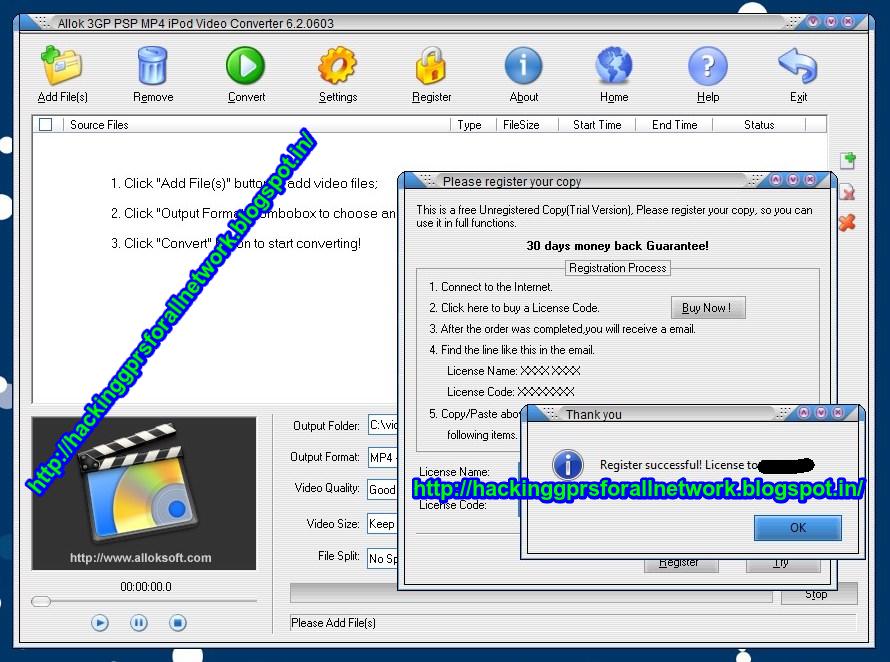 CONVERTER RM RMVB TÉLÉCHARGER TO MPEG DVD AVI CRACK ALLOK