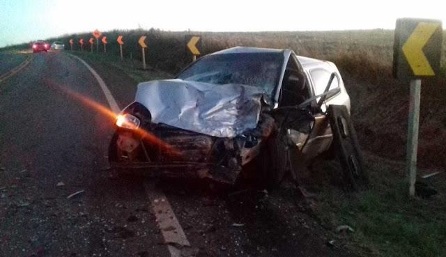 Acidente deixa mortos na ERS-142 em Victor Graeff