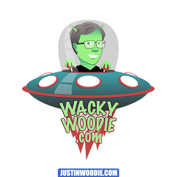 Wacky Woodie Graphic Logo Design