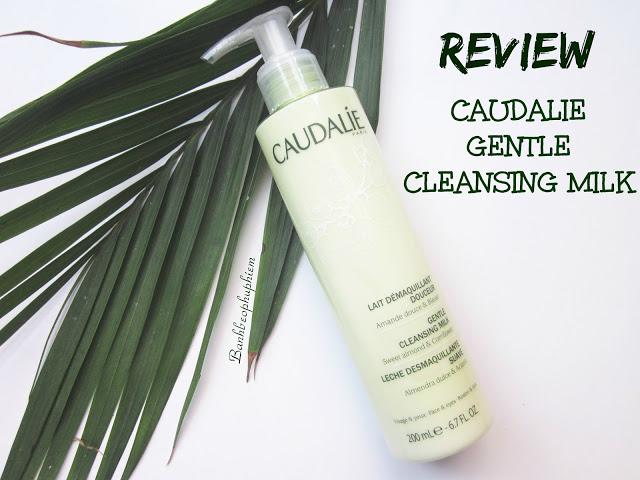 Review Caudalie Gentle Cleansing Milk Sữa Rửa Mặt Dịu Nhẹ Và Ẩm Mượt Nhất, caudalie, caudalie gentle cleansing milk, sữa rửa mặt caudialie