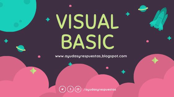VISUAL BASIC: ATIVIDAD 5 QUIZ 1