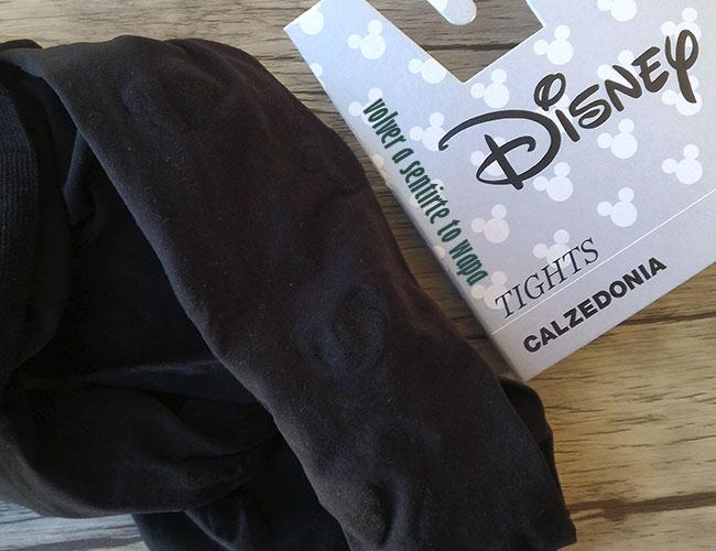 Medias de Disney con la silueta de la cara de Minnie de CALZEDONIA