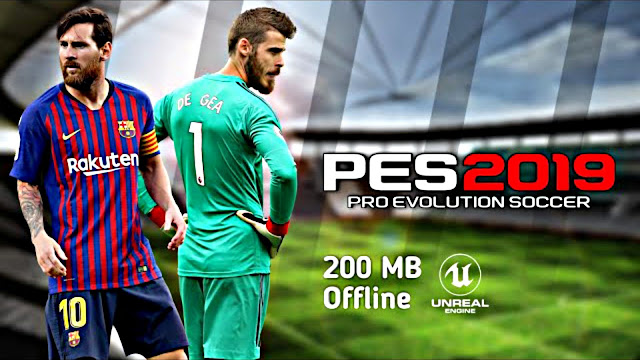 PES 2019 Lite 200 MB Android Offline Best Graphics