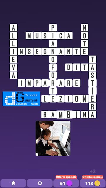 Soluzioni One Clue Crossword livello 24 schemi 1  (Cruciverba illustrato)    Parole e foto