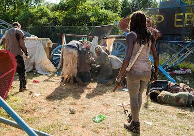 Michonne (Danai Gurira)  nell'episodio 12