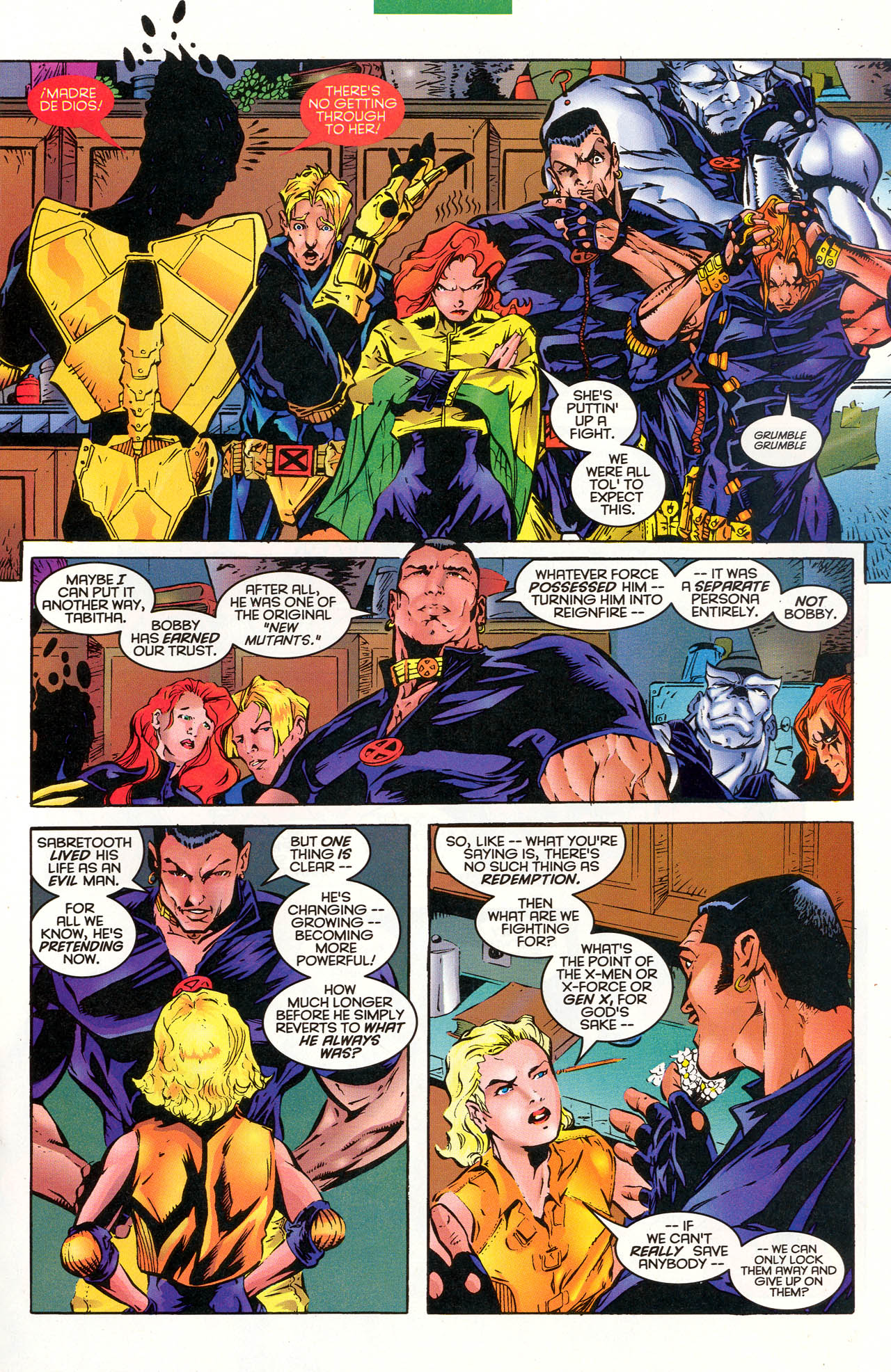 Read online X-Force (1991) comic -  Issue #48 - 14