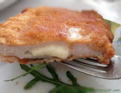 Schabowe kieszonki z serem super przepis