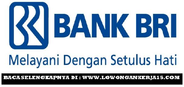 LOWONGAN KERJA BANK BRI PANGKALPINANG
