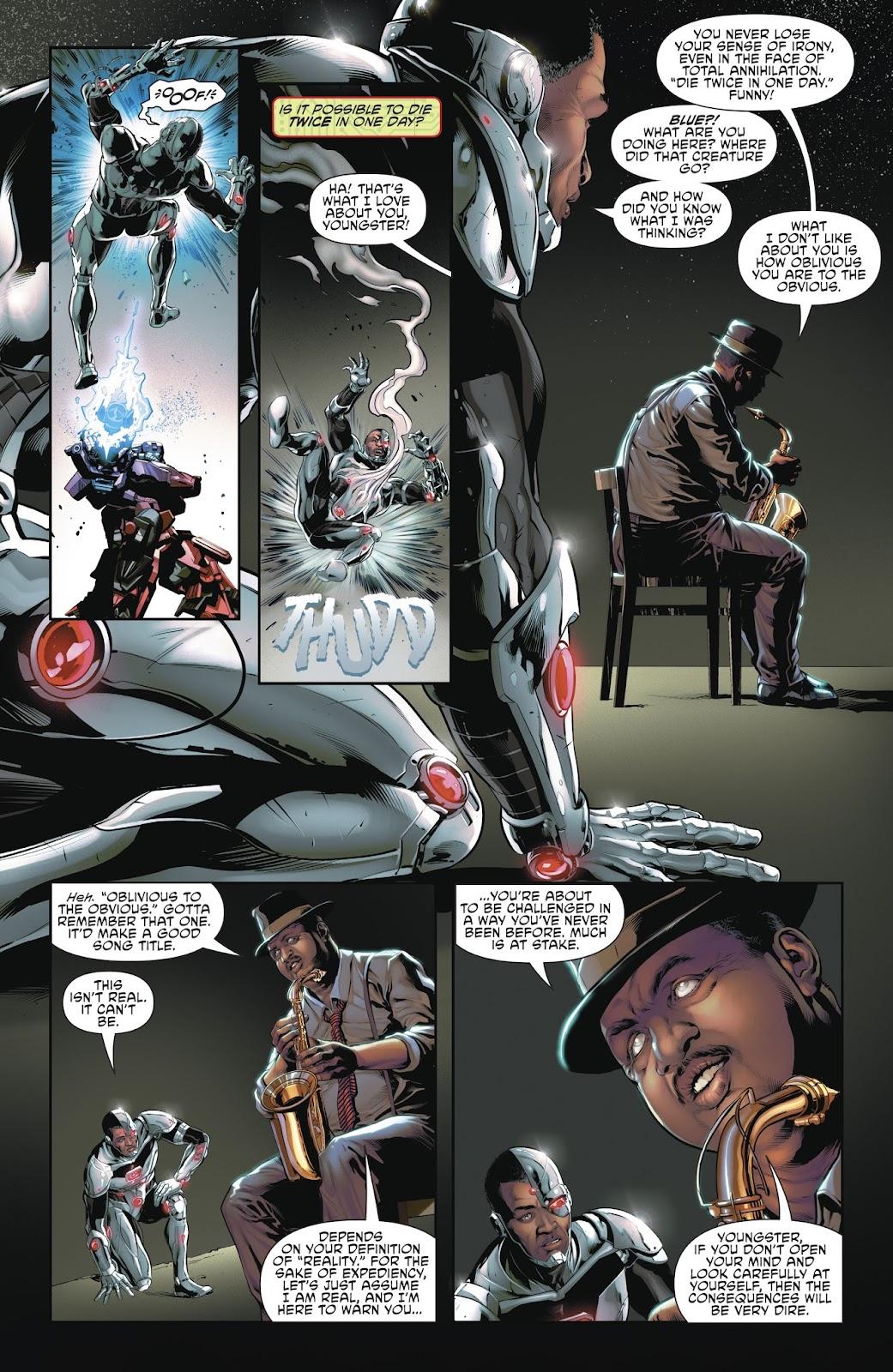 Read online Cyborg (2016) comic -  Issue #14 - 8