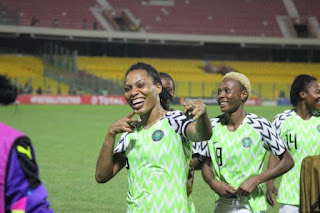 Video: Super Falcons Celebrating Round Of 16 Qualification In France