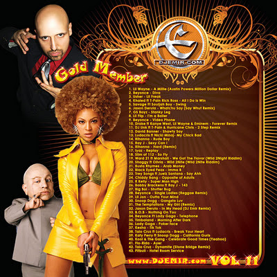 DJ Emir Austin Powers Gold Member Mixtape