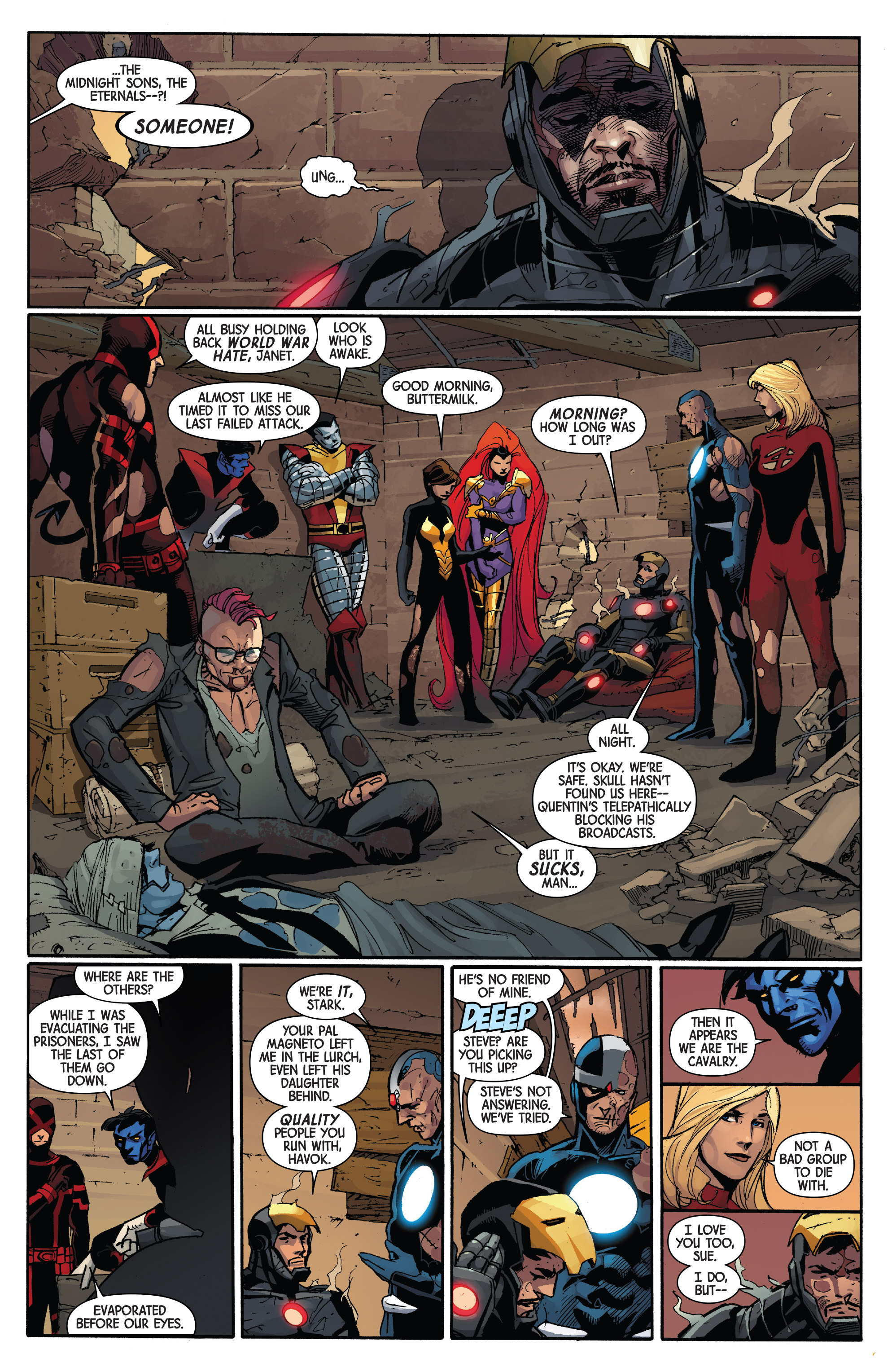 Read online Avengers & X-Men: AXIS comic -  Issue #2 - 17