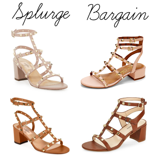 88f1739aa8ee10 Rockstud Valentino Dupe Easilydressed City Sandals qpGzVSUM