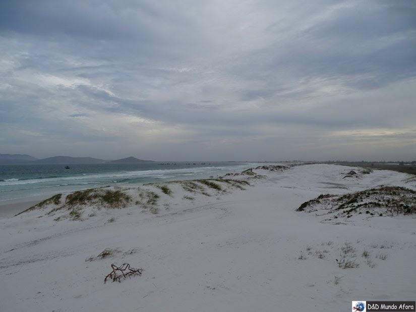 Praia das Dunas em Cabo Frio - Roteiro Cabo Frio: 6 dias em Cabo Frio e RJ