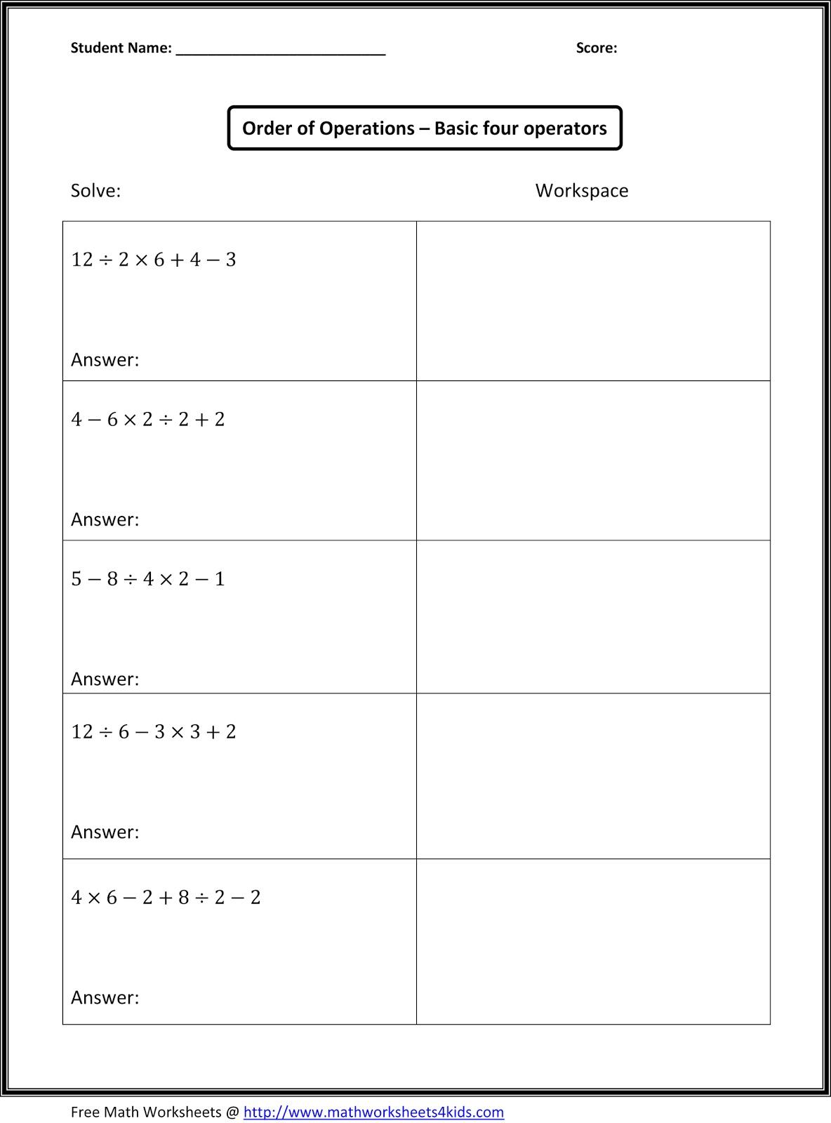 worksheet Math Worksheets Grade 6 Algebra algebra worksheets grade 7 free library download and m th lgebr w ksheets gr de topics college ess ys