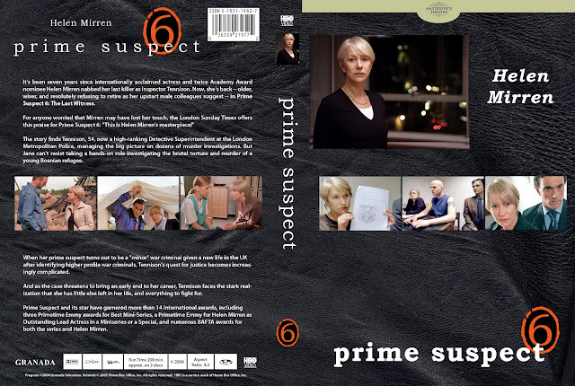 Prime Suspect Season 6 DVD Cover