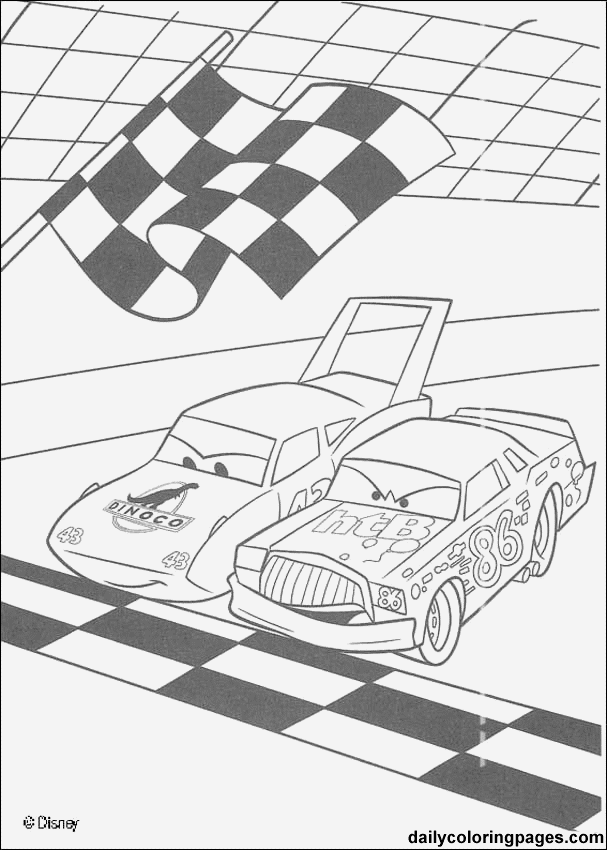 Disney Cars Malvorlagen