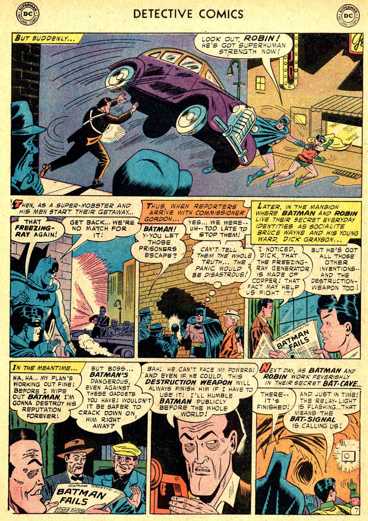 Read online Detective Comics (1937) comic -  Issue #250 - 9