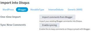 Import komentarzy i synchronizacja - jeszcze nie wykonane