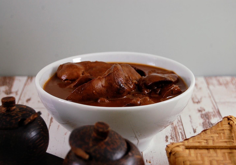 Sambal Goreng Hati - Leber mit Chili Sauce auf indonesische Art