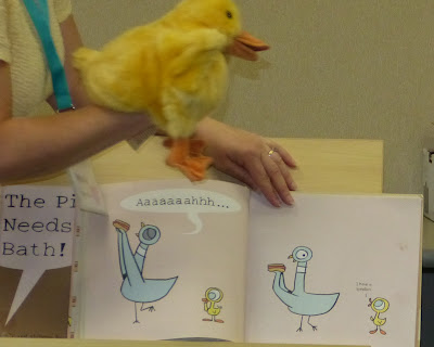 Don't let the Pigeon run Story Time - ideas for extending the Mo Willems books.