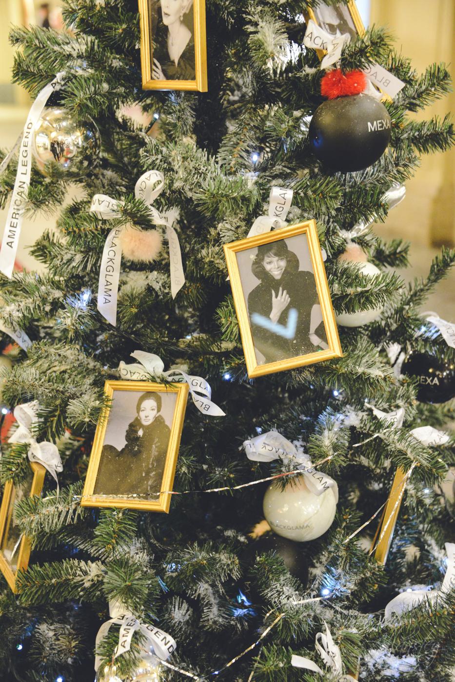 Christmas tree photo decorations