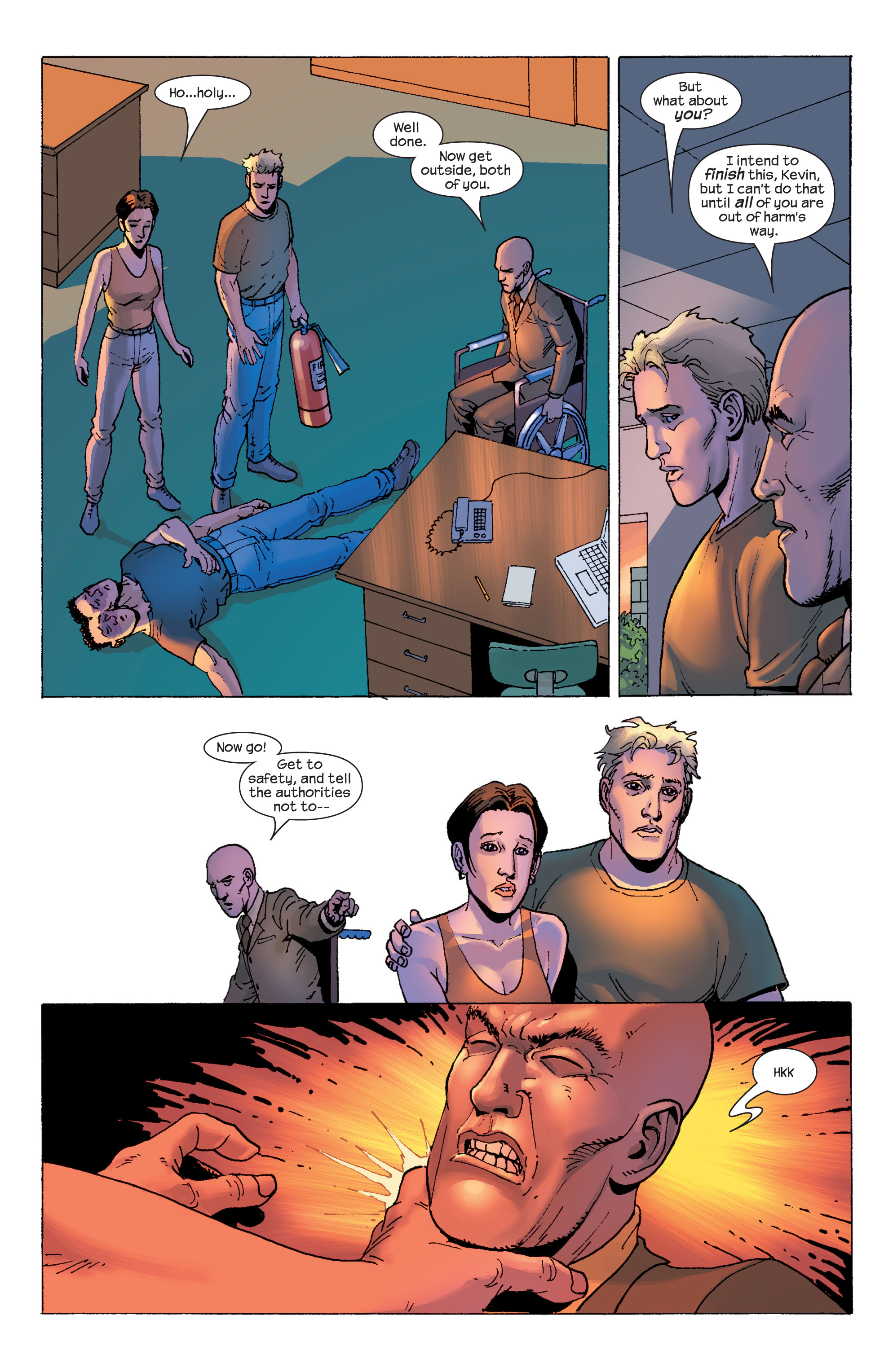 Read online Ultimate X-Men comic -  Issue #58 - 17
