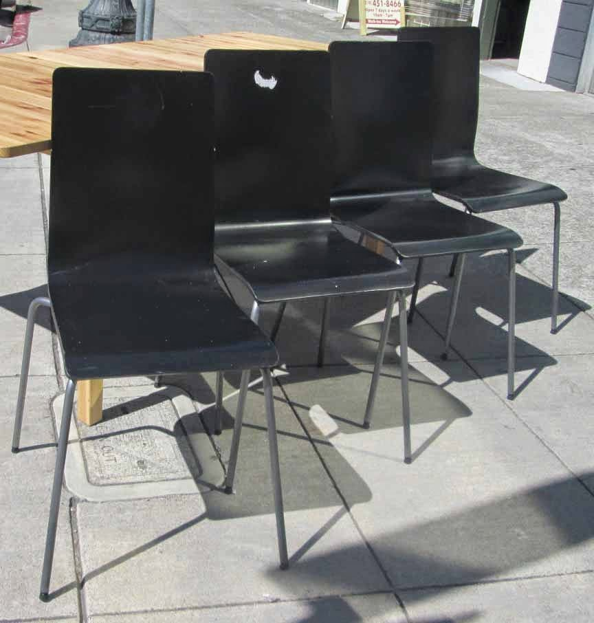 Set Of 4 Ikea Martin Chairs 60