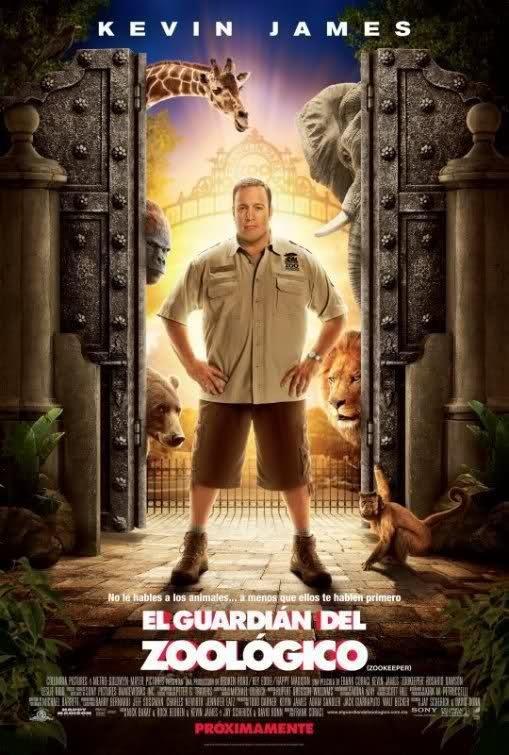 El Guardián del Zoológico [Zookeeper] 2011 BRRip [720p HD] Subtitulos Español Latino