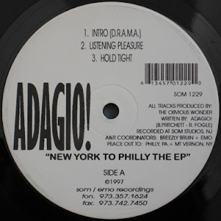 Adagio! - New York To Philly The EP (1997) Flac