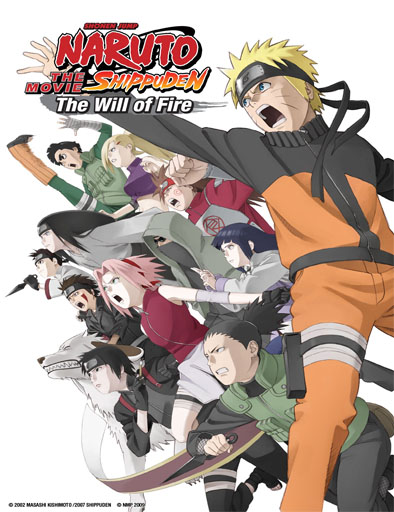 Naruto shippuden pelicula 3: Herederos de la voluntad de fuego