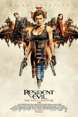 Resident Evil The Final Chapter (2017) Hindi Dual Audio CamRip 1GB