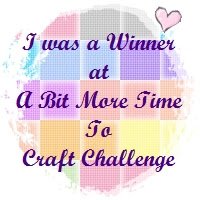 WINNER at A Bit More Time to Craft