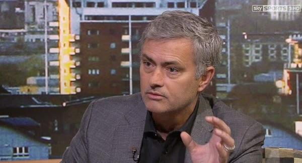 Mourinho en la entrevista concedida a la cadena Sky Sports