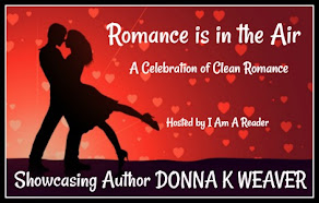 Romance is in the Air featuring Donna K. Weaver - 22 February