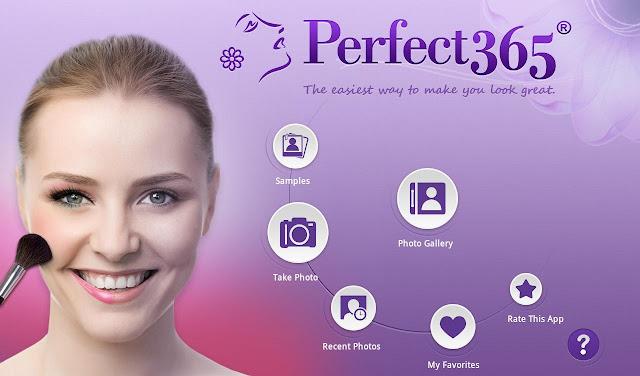 تحميل تطبيق Perfect365 لتنظيف الوجوه من الحبوب واضافة المكياج النسخة الكاملة للأندرويد