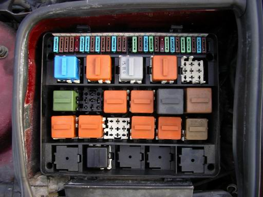 Bmw E34 Fuse Box Wiring Diagram