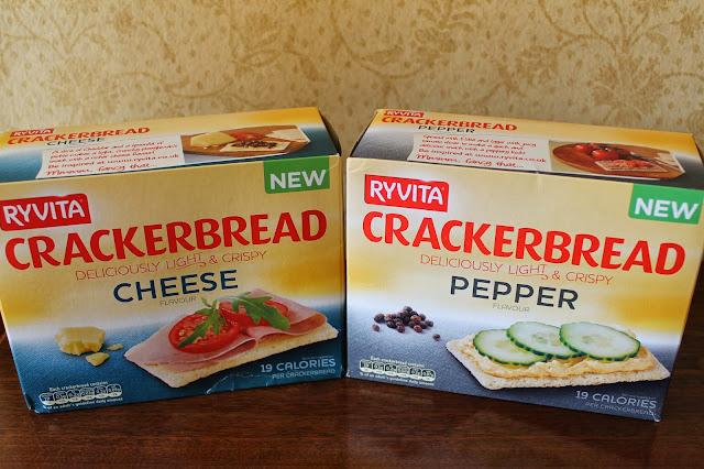 Ryvita's new Crackerbread flavours - www.jibberjabberuk.co.uk
