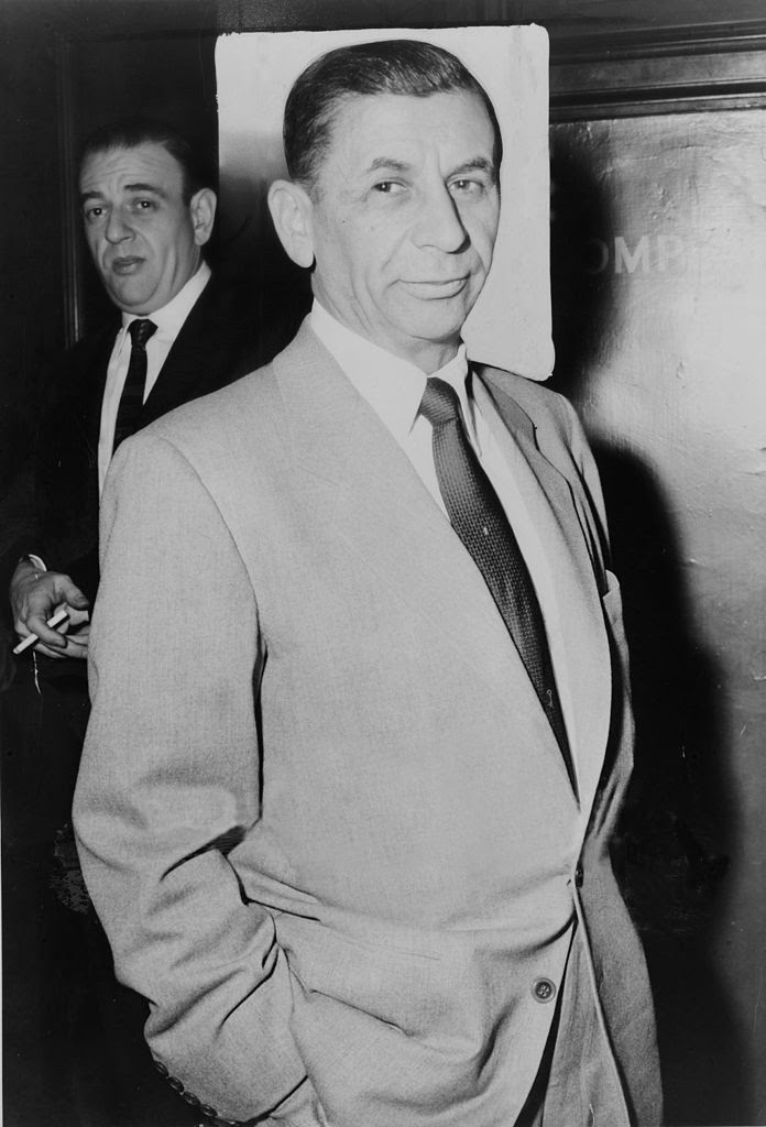 Meyer Lansky not only brought Jewish gangsters into the fold,  but also achieved for himself supremacy among his coreligionists