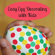 Easy Egg Decorating With Kids For Easter ~ Putti's World-kids-activities