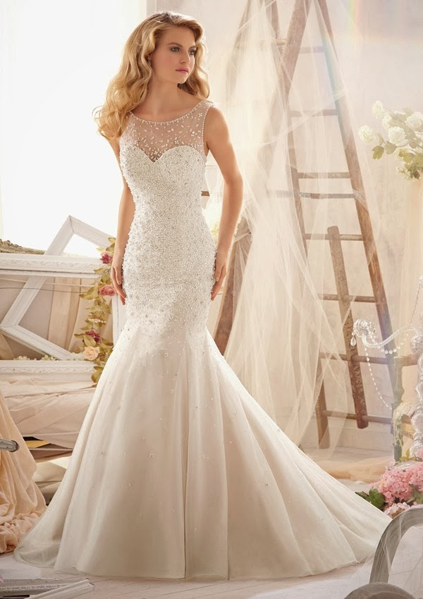 Awesome Sheer Top Wedding Dress Images - Styles & Ideas 2018 ...