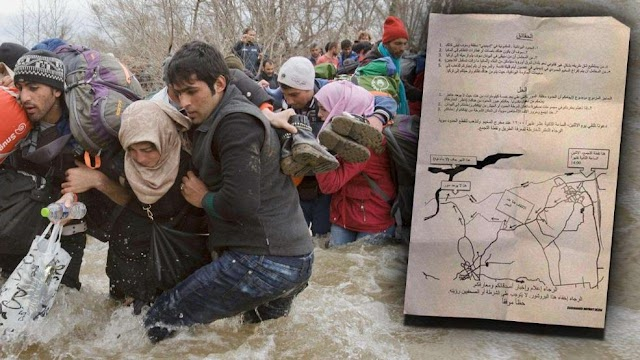Organisierte Massenflucht über makedonische Grenze?