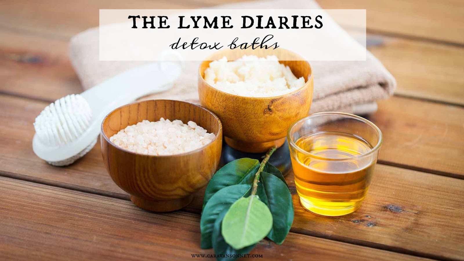 the Lyme Diaries: detox baths | Caravan Sonnet