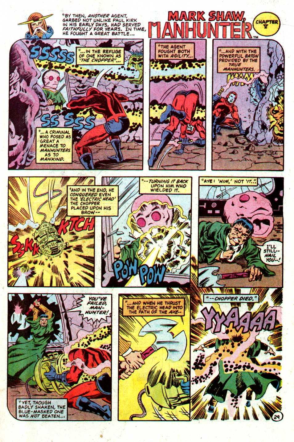 Read online Secret Origins (1986) comic -  Issue #22 - 30