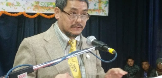Dr Mahendra P Lama louds Sixth Schedule