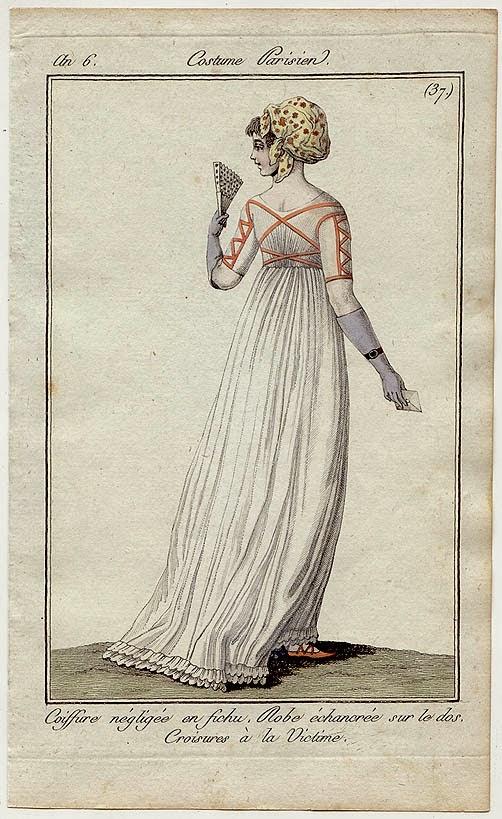 moda rewolucji francuskiej