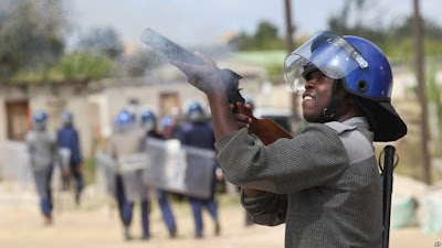 Horror as police gun man down for stealing turkey