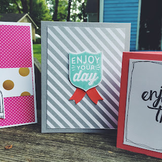 Enjoy Your Day with Badges and Banners by Spread Joy Stamping