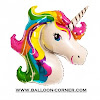 Balon Foil Rainbow Unicorn JUMBO
